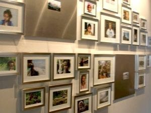 gallery wall our office