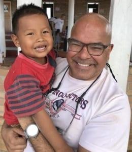 Dr Patel in Guyana