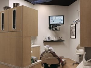 Dentistry at East Piedmont Patient Treatment Area