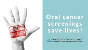 Oral cancer screenings save lives!