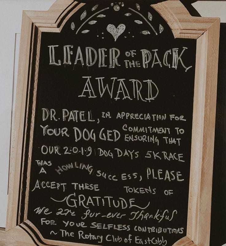 leader of the pack award